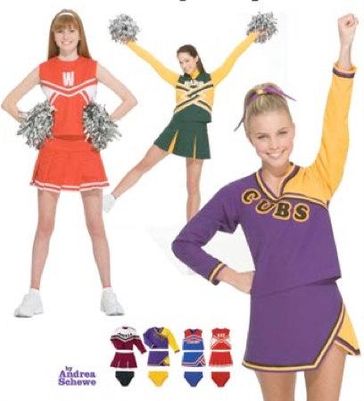 cheerleader free pattern adult
