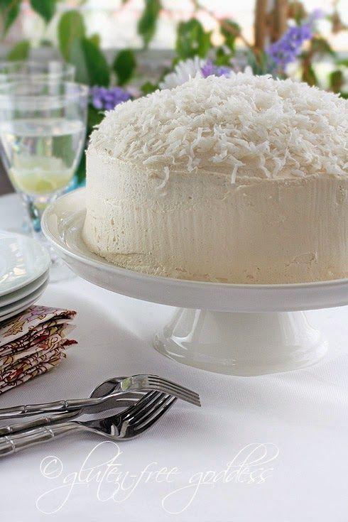 Gluten-Free Coconut Layer Cake | Gluten Free Sweets | Pinterest