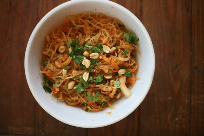 noodle kelp thai raw pad Pinterest  Kelp Thai Friendly Veggie  Noodle Pad