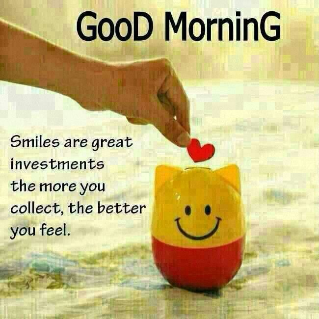 Good Morning Quotes Smile : Good morning smile quotes quotesgram