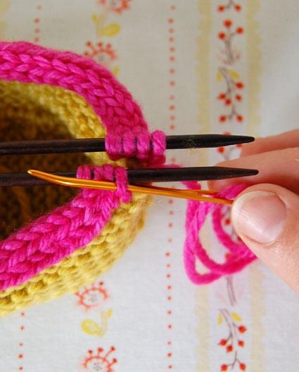 Crochet Kitchener Stitch : kitchener stitch tutorial