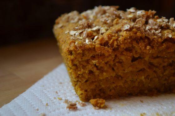 Pumpkin Oat Bread - vegan | veganista | Pinterest