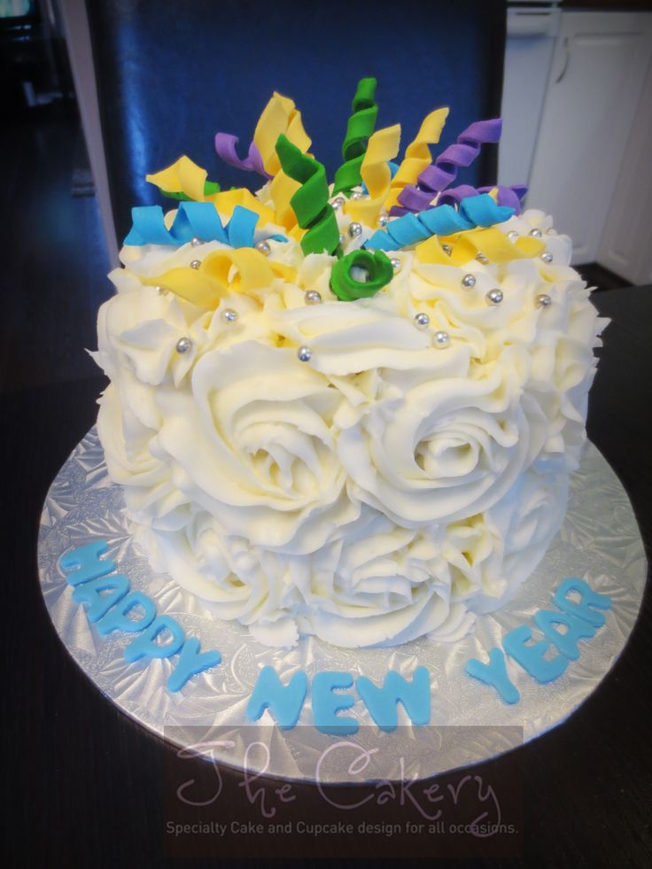 New Year S Day Cake : New Year s Eve cake My Cakes (The Cakery) Pinterest