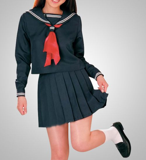 Girls Public School Uniform Cosplay Costumes Sale