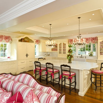 Kitchen red accent design pictures remodel decor and ideas page 3