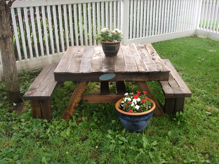 Permalink to build a picnic table cheap
