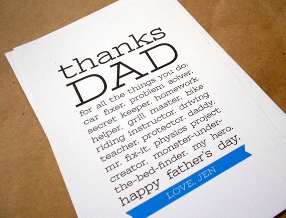 fathers day cards custom