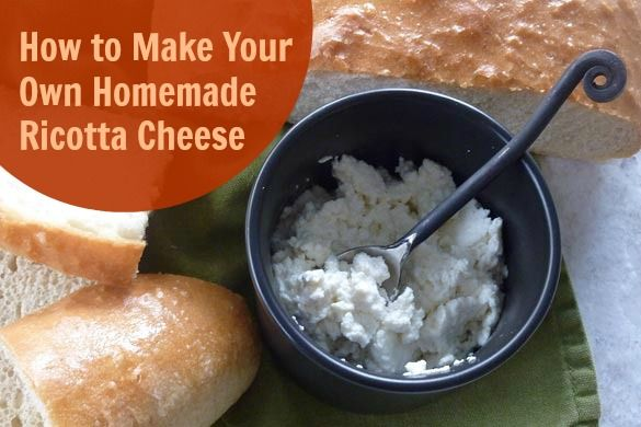 How to Make Your Own Homemade Ricotta Cheese