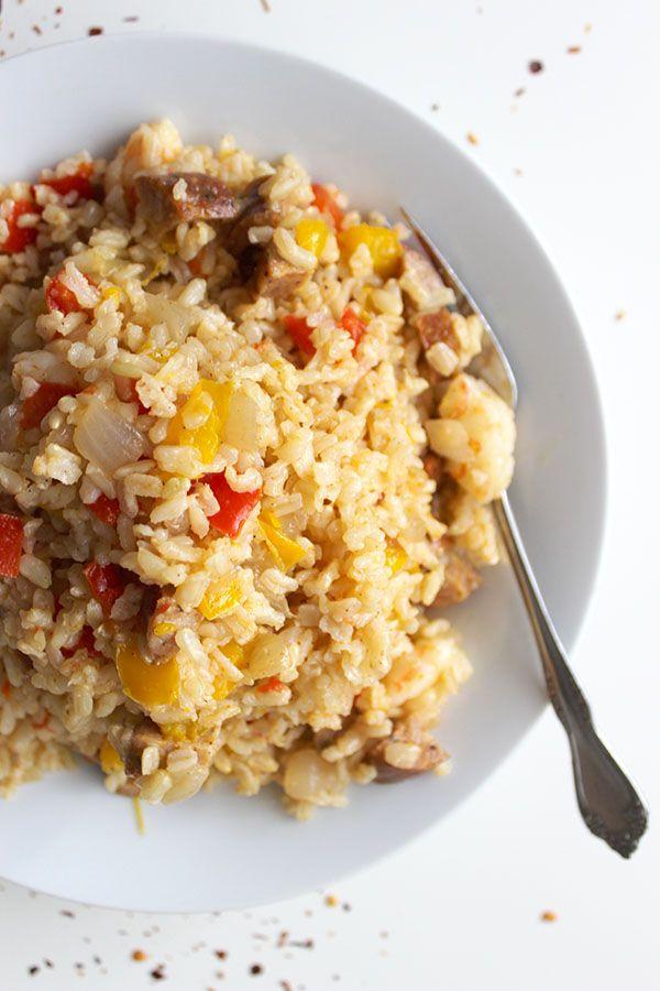 Quick Jambalaya - super simple 5 ingredient recipe!