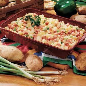 Ham and Potatoes Au Gratin | Recipe