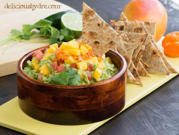 Perfect mango-habanero guacamole for Cinco de Mayo!! recipe here: http ...