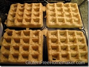 Gluten-Free Multigrain Waffles Recipe — Dishmaps