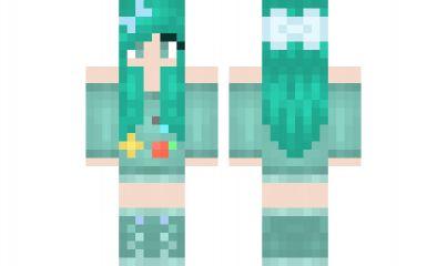 Minecraft skin bmo girl girl minecraft skins pinterest