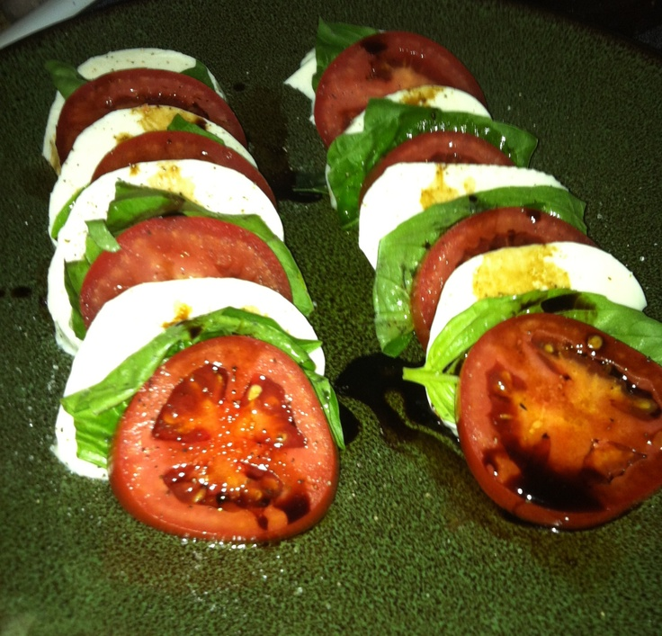was easy and so delish. I used plum tomatoes, fresh basil, and fresh ...
