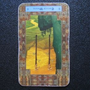 040113 reversed two of wands make sure that any partners in