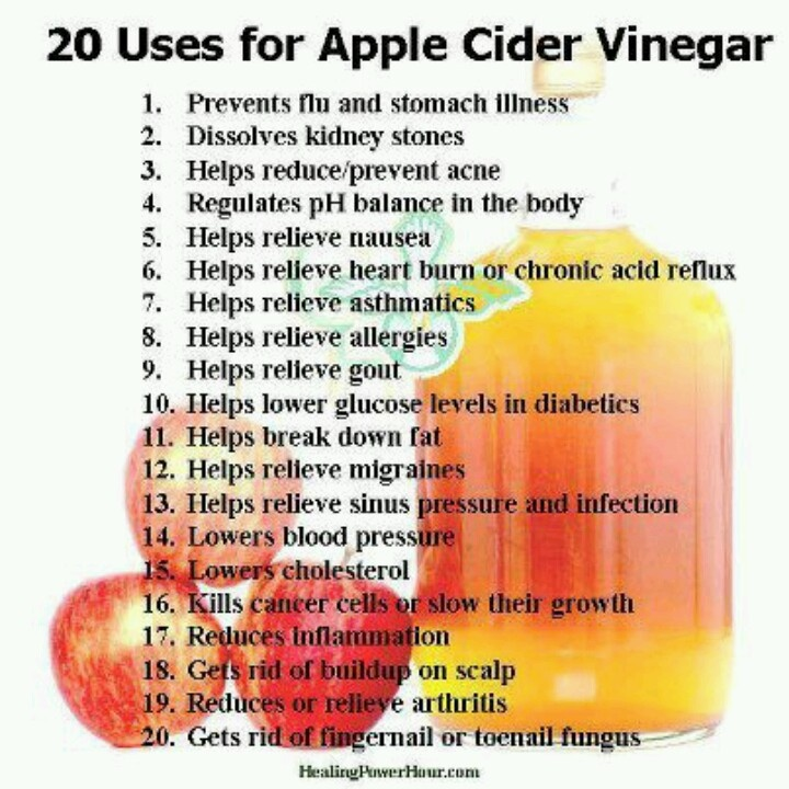 Benefits From Apple Cider Vinegar With Mother