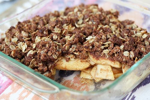 My updated recipe for apple crisp!! Apple Crisp 2.0! #vegan # ...