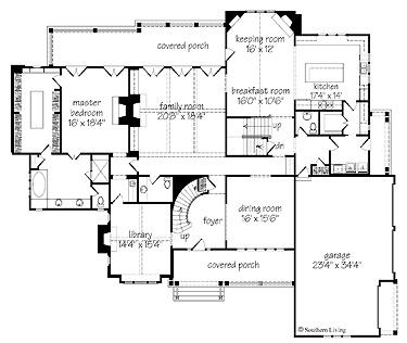 Southern living glendale floor plan house plans pinterest for Www southernlivinghouseplans com