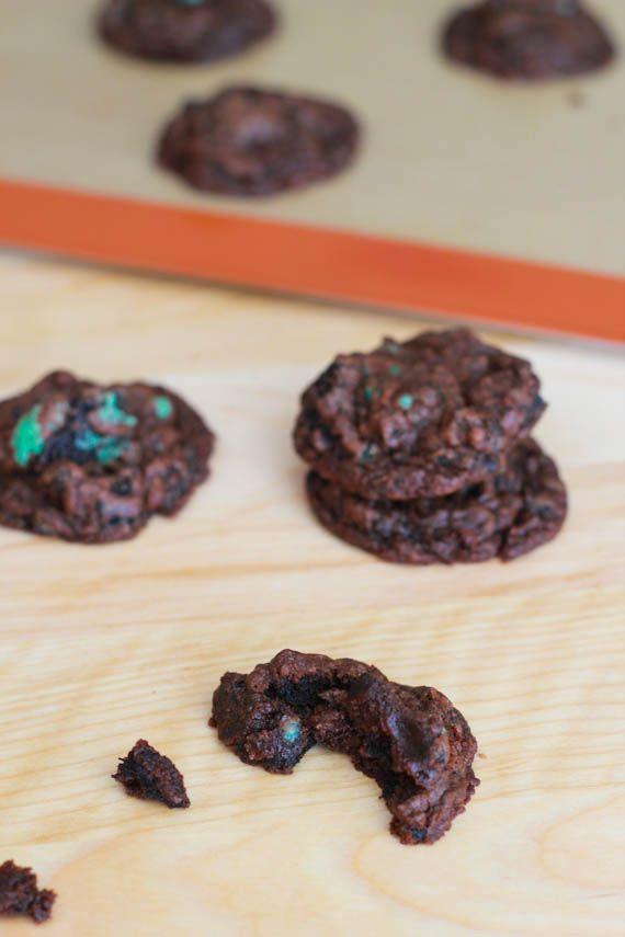Dark Chocolate Mint Oreo Cookies from Sally's Baking Addiction
