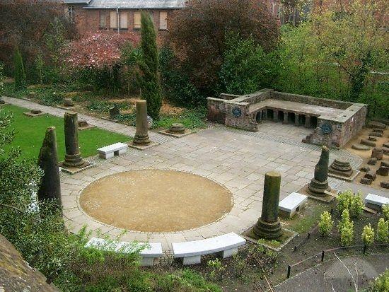 Roman Gardens Chester Garden Pinterest