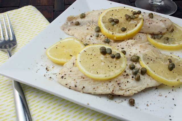 Tilapia Piccata | Seafood | Pinterest