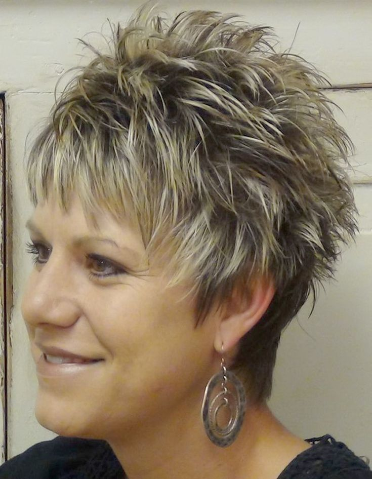 Short Spikey Hairstyles for Women | Short Hairstyles | Pinterest