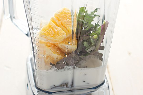 Green Orange Dreamsicle Smoothie Vitamix TurboBlend VS Review