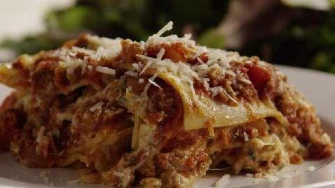 American Lasagna Allrecipes.com | Food- Pasta (my weakness!) | Pinter ...