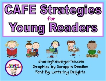Strategies signs for CAFE... for young readers! Very visual and easy!!!