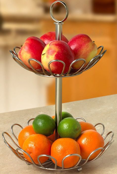 2 tiered fruit bowl product design inspiration things i love - Tiered fruit bowl ...