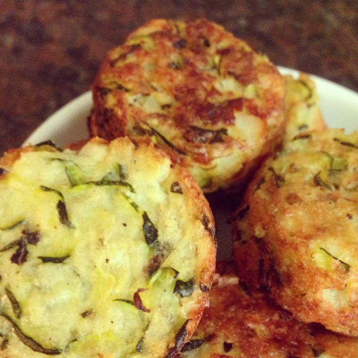 Zucchini Tots holy shitballs! | Vegan | Pinterest