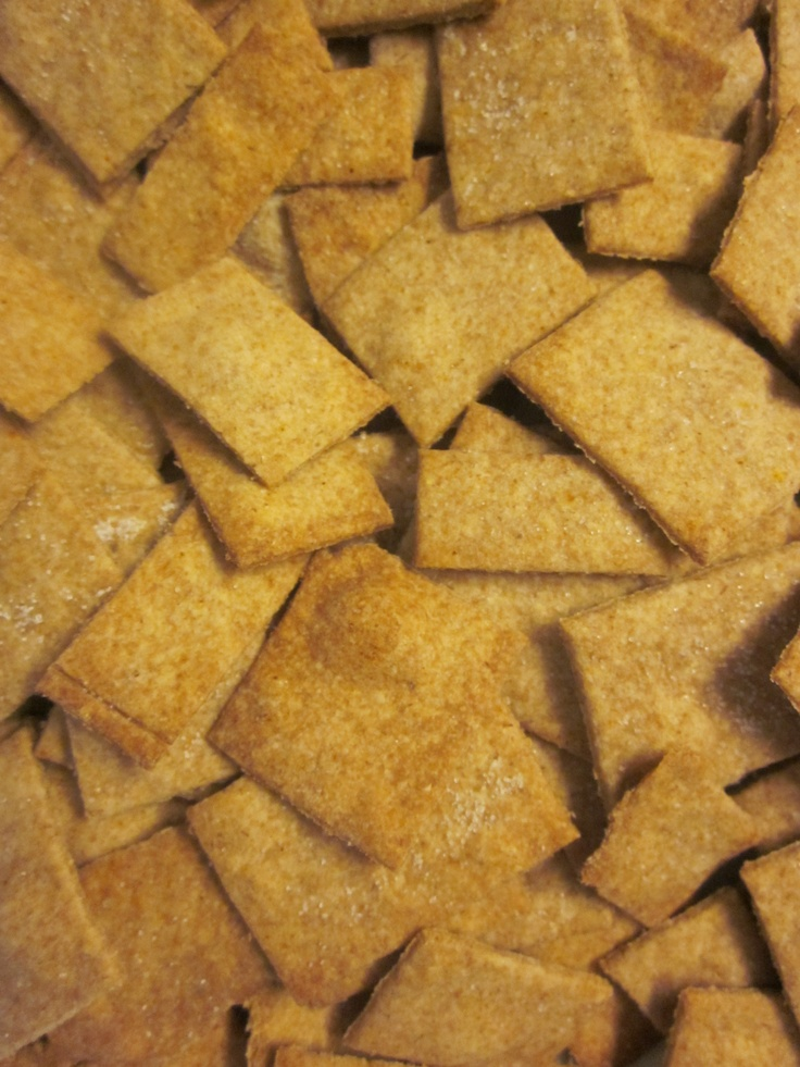 homemade wheat thins | Working my way through my pinterest recipes ...