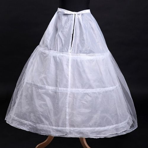 Hoop skirt. When you sat down, the hoop had a mind of it's own. Hard ...