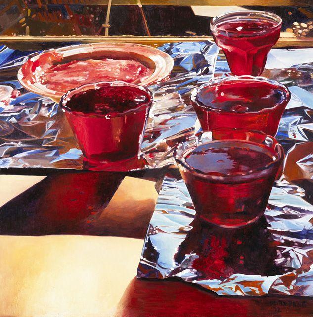 Red Currant Jelly, Mary Pratt 1972 | Mary Pratt a Canadian Artist | P ...