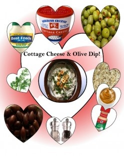 Cottage Cheese and Olive Dip & Dilly Dip | Recipe