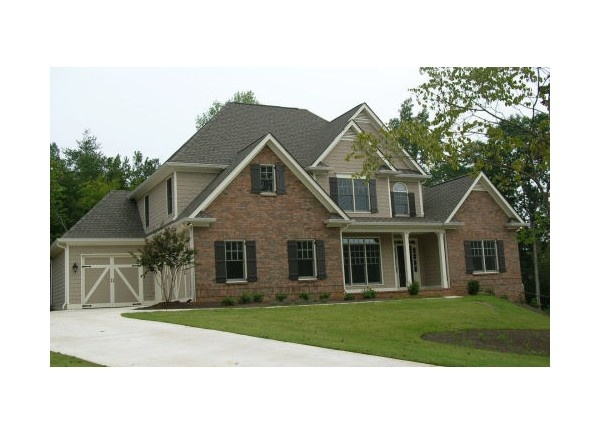 Front view house plan 437 35 house plans pinterest