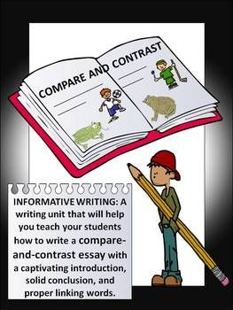 transition words for essays compare and contrast