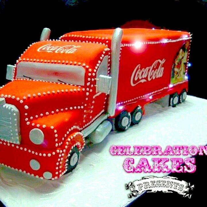 Camión Coca-Cola Cake