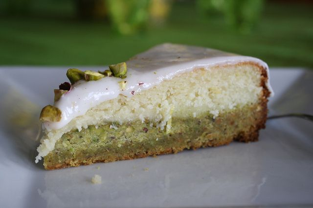 Lemon Pistachio Cake | Recipe