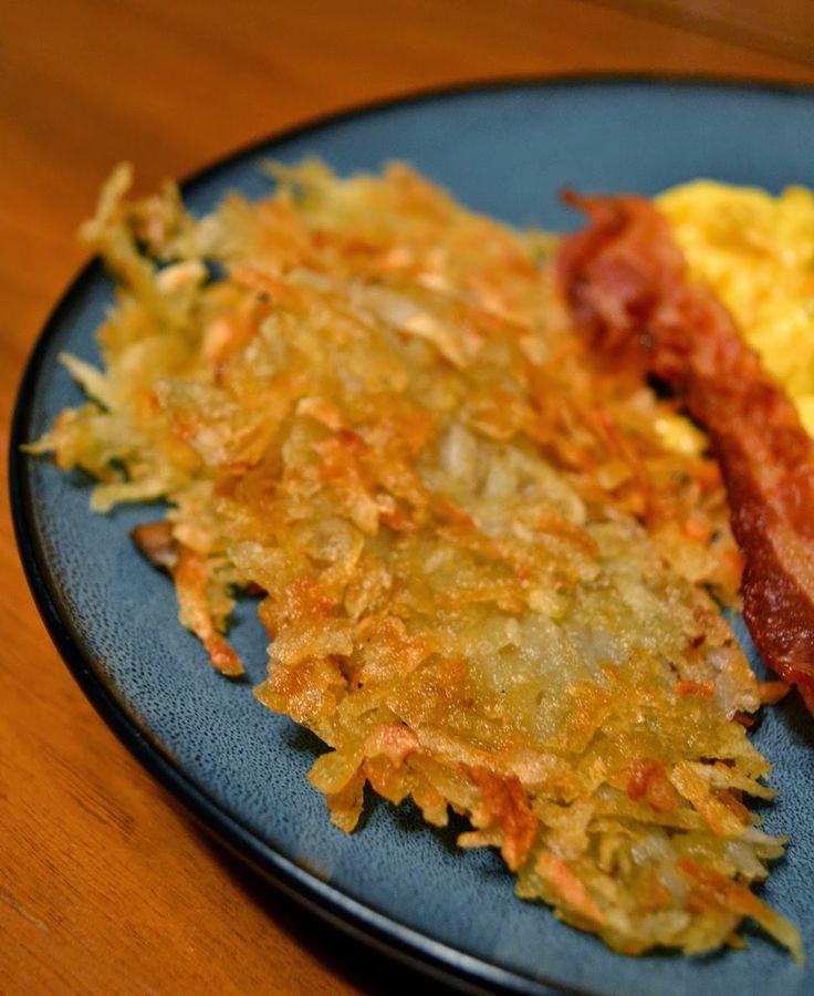 Crispy Homemade Hash Browns | Simple Savory & Satisfying | Pinterest