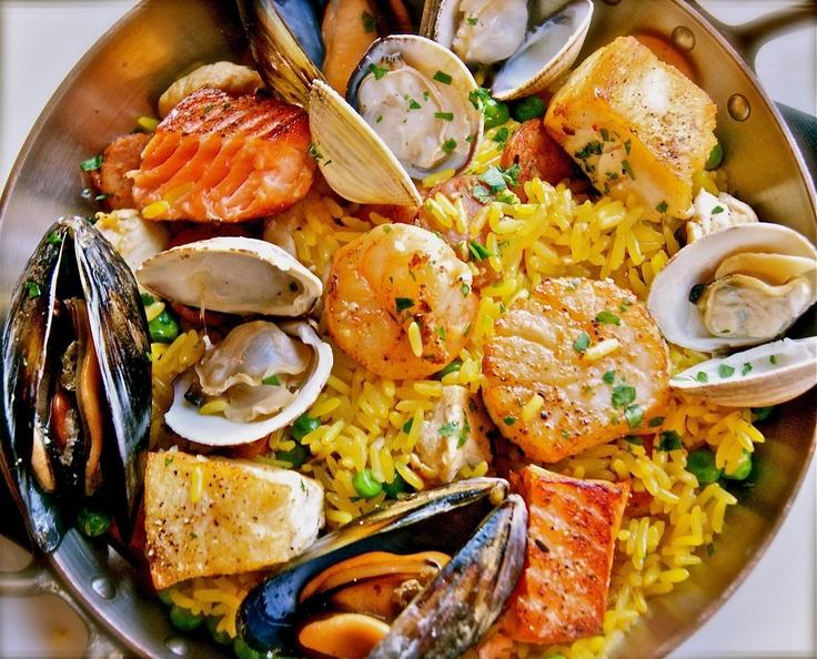 Seafood Paella | Food - Seafood | Pinterest