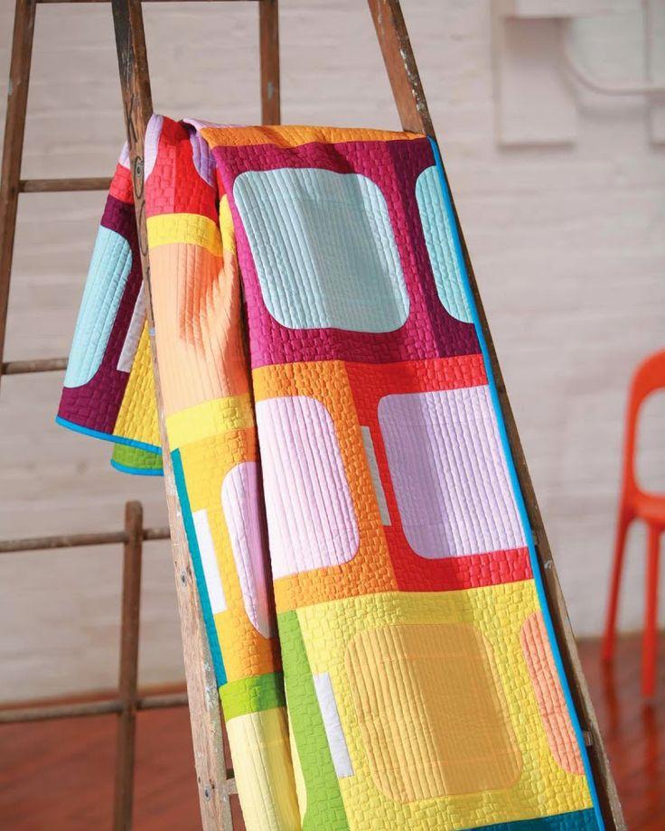 модерен пачуърк - дюсове, графичен вид, смели цветове
