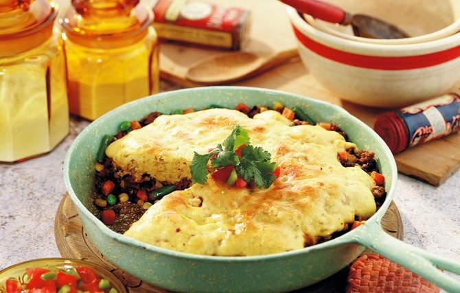 Beef Tamale Pie - Grandma's Mexican neighbors taught her to spice up ...