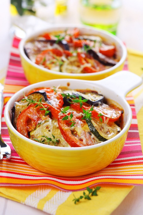 rustic oven-baked ratatouille | Side Dishes: Veggies & Potatoes | Pin ...