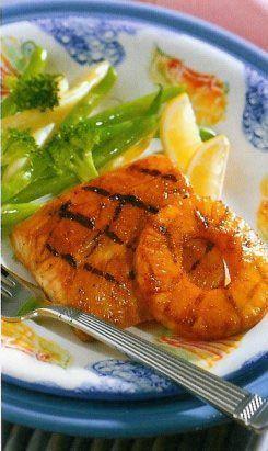 Gwyneth Paltrow's Grilled Halibut With Mango-Avocado Salsa Recipes ...