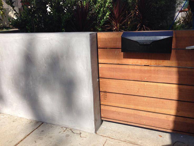 Smooth stucco light gray fences pinterest for Lightweight stucco