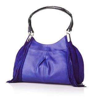 Makowsky Hudson leather shopper bag with fringe