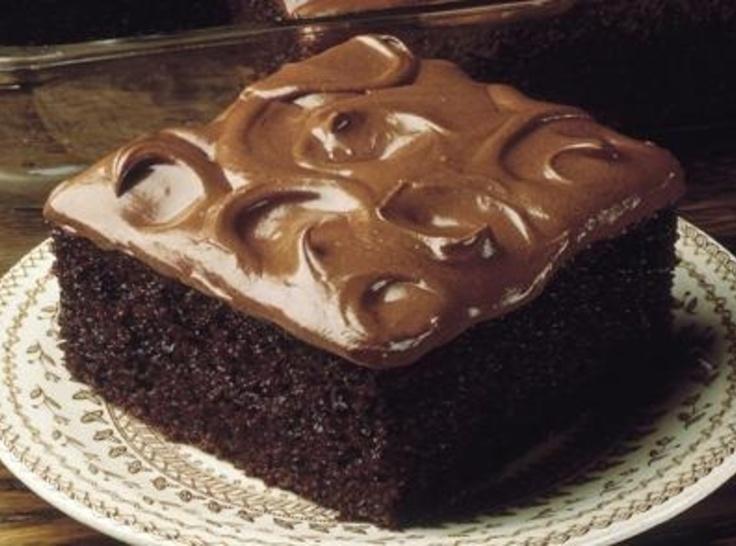 Deep Dark Chocolate Cake | Cookies & Cakes | Pinterest