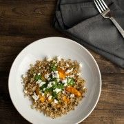 Roasted Butternut Squash and Udon Noodles with Cilantro-Tahini Sauce ...