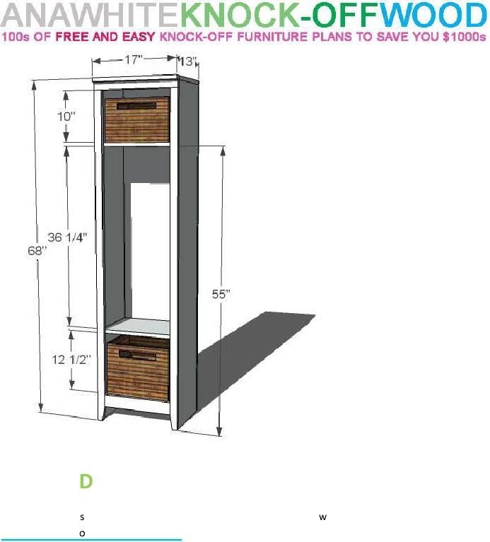 Mudroom locker plans joy studio design gallery best design for Mudroom locker design plans